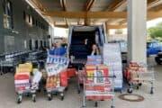 Kollegen organisieren Spendentransport nach Hellenthal