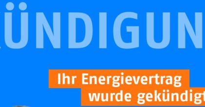 Anbieter kündigen Energieverträge