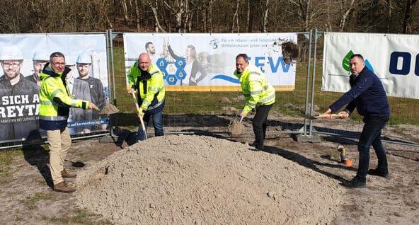 Bau einer neuer Trinkwasserleitung