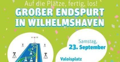 Kindersprint: Stadt-Finale am 23. September 2017 auf dem Valoisplatz