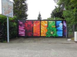 Blumen Farbverlauf